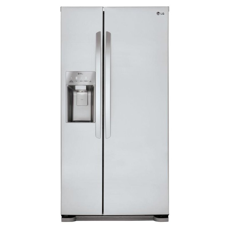 Lsxs22423s Lg Side By Refrigerator 33 Inch Stainless Steel