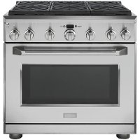 ZGP366LRSS GE Monogram 36 Inch All Gas Professional Range with 6 Burners (Liquid Propane)