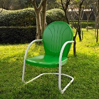 CO1001A-GR Metal Chair in Grasshopper Green - Griffith