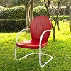 CO1001A-RE Metal Chair in Red - Griffith