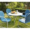 KOD1002WH 5 Piece Metal Outdoor Dining Set - Griffith