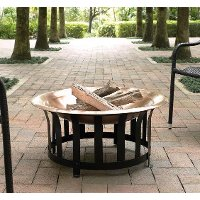 CO9004A-CO Copper Bowl Fire Pit - Ridgeway