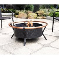 CO9005A-BK Copper Ring Fire Pit - Yuma