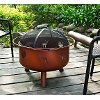 CO9008A-CL Wildlife Clay Firepit - Durango
