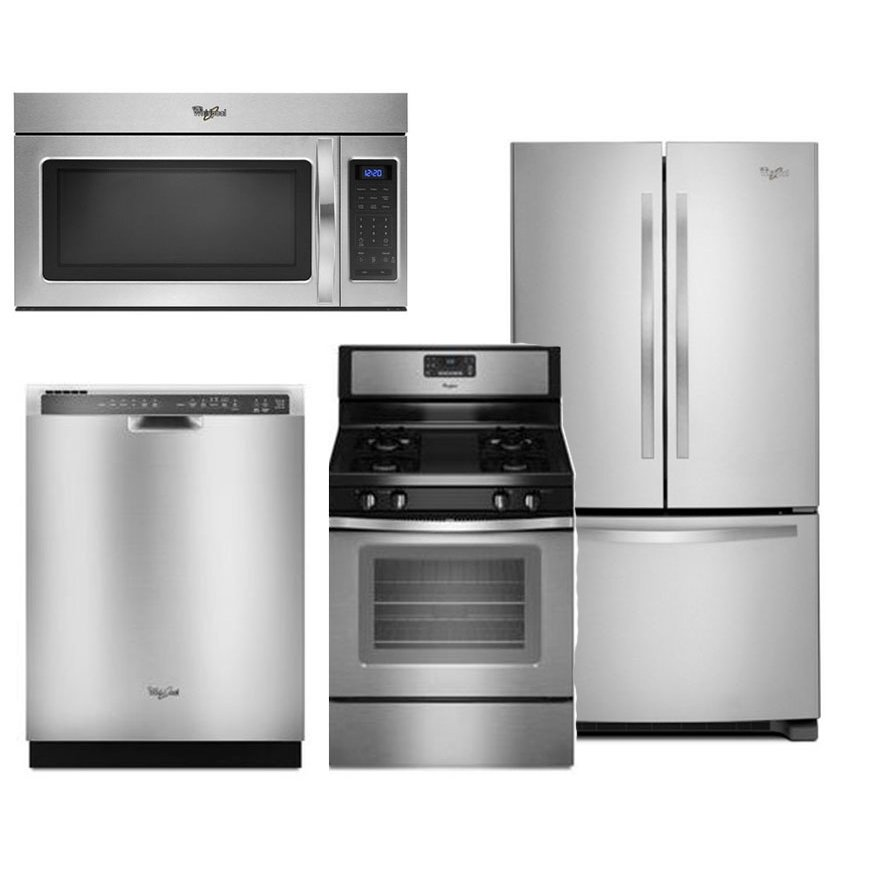 kitchen appliance package whirlpool 4 gas kitchen appliance rc willey 28815