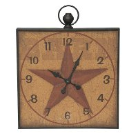 Southern Star Wall Clock on Cork Memo Board