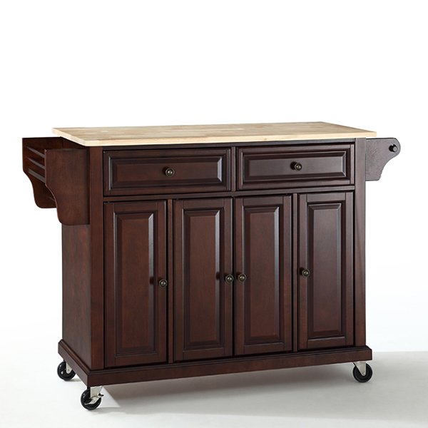 RC Willey sells kitchen islands and kitchen prep carts