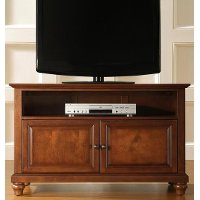 KF10003DCH Cambridge Cherry Crosley 42 TV Stand