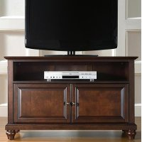 KF10003DMA Cambridge Mahogany Crosley 42 TV Stand