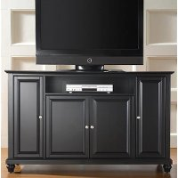 KF10001DBK Black 60 Inch TV Stand - Cambridge