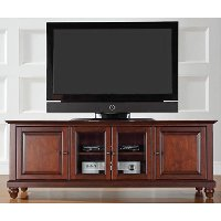 KF10005DMA Mahogany 60 Inch Low Profile TV Stand - Cambridge