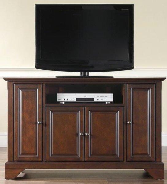 Superieur KF10002BMA Mahogany 48 Inch TV Stand   LaFayette