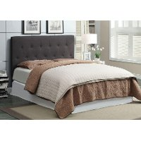 Leroy Gray Upholstered Full-Queen Upholstered Headboard