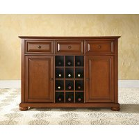 KF42001ACH Cherry Wine Buffet Server - Alexandria