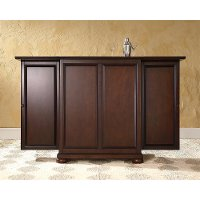 Alexandria Sliding Top Bar Cabinet | RC Willey Furniture Store