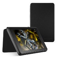B00kqe2qaw Amazon Kindle Fire HD 6 Inch Standing Protective Case - Black