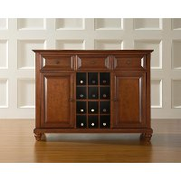 KF42001DCH Cherry Wine Buffet Server - Cambridge