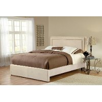 1566BQRA Buckwheat Tan Queen Size Bed - Amber