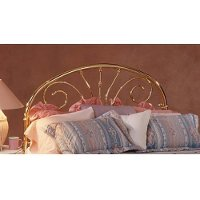 1069HFR Gold Full Metal Headboard - Jackson