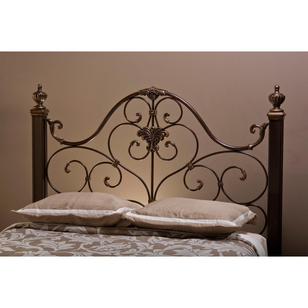 shipping safavieh overstock product home lucinda free gold garden antique today full metal headboard