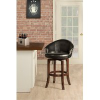 5075-830 Chestnut Swivel Bar Stool - Dartford