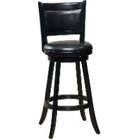 4472-831 Blakc Vinyl Swivel Bar Stool - Dennery