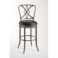 5124-826 Classic Pewter Swivel Counter Height Stool - Jacqueline