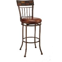 4266-826 Copper Brown Metal Counter Height Stool - Montero