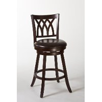 5208-830 Cherry Swivel Barstool - Tateswood