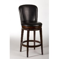 5101-830 Dark Cherry Swivel Bar Stool - Victoria