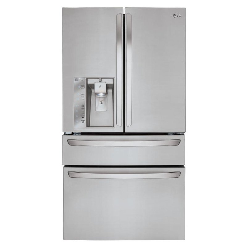 Lg French Door Counter Depth Refrigerator 36 Inch Stainless Steel