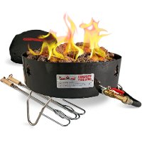 GCLOG Camp Chef Fire Pit Compact Propane Firepit with Bag