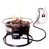 GCLOGD Redwood Portable Fire Pit with Bag