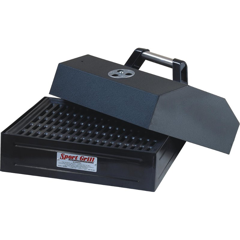 BBQ Grill Box with Removable Lid - Grill Accessories