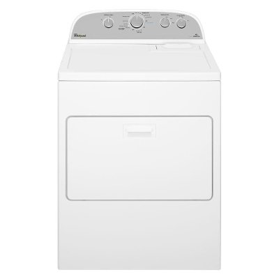 WED49STBW Whirlpool Electric Dryer with AccuDry - 7.0 cu. ft. White