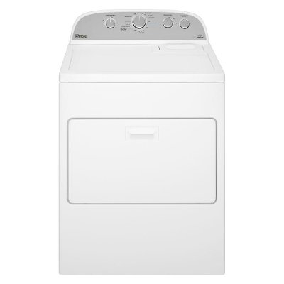 WGD49STBW Whirlpool Gas Dryer with Steam Refresh - 7.0 Cu. Ft. White