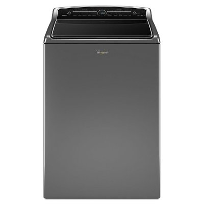 WTW8500DC Whirlpool Top Load Washer Adaptive Wash - 5.3 cu. ft. Chrome