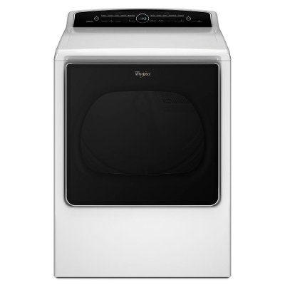 WED8500DW Whirlpool Electric Dryer -  8.8 cu. ft. White
