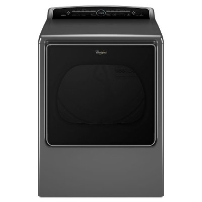 WED8500DC Whirlpool Electric Steam Dryer - 8.8 cu. ft. Chrome Shadow