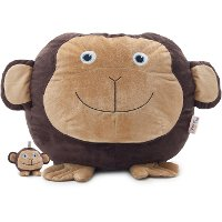 7660MONKEY Big Joe Maya the Monkey w/ Lil Buddy Short Fur