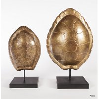 16 Inch Turtle Shell Sculpture