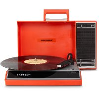 CR6016A-RE Crosley Spinnerette Portable USB Record Player