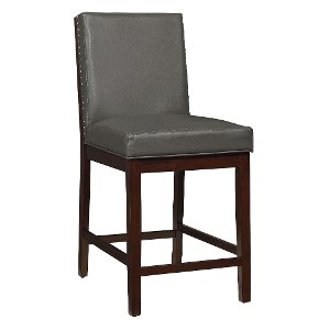 Couture Gray Counter Stool