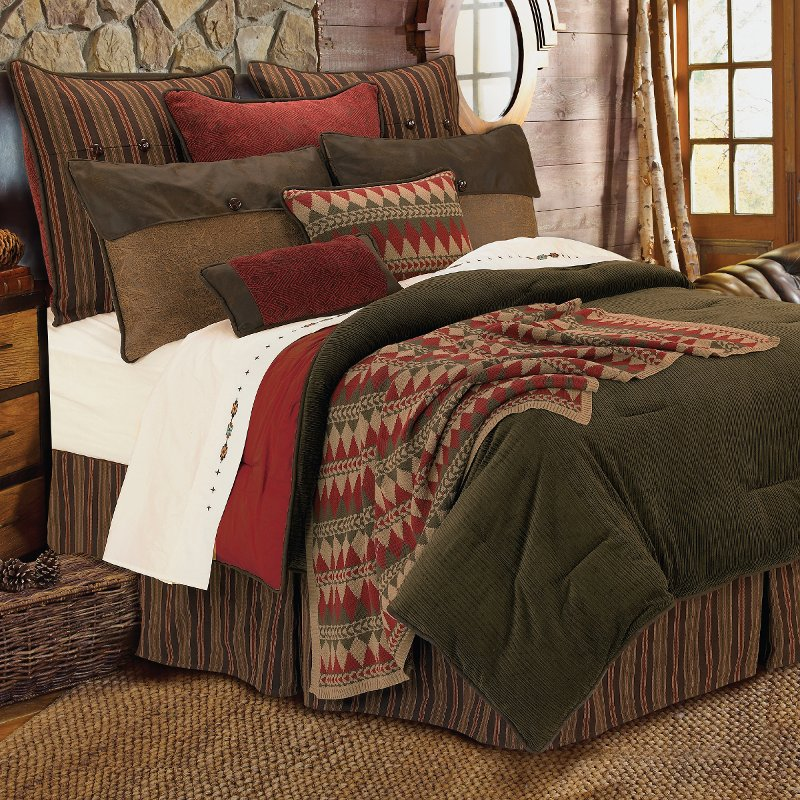 Queen Wilderness Ridge Bedding Collection