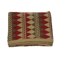 Diamond Navajo Luxury Knitted Throw