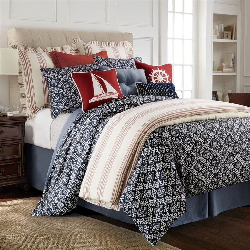 Blue King Monterrey Bedding Collection