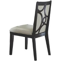Espresso Upholstered Dining Room Chair - Planet Collection