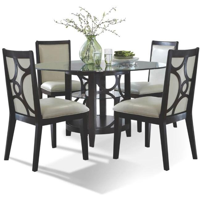 Espresso 5 Piece Dining Set   Planet Collection | RC Willey Furniture Store
