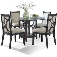 Espresso 5 Piece Dining Set - Planet Collection
