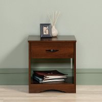 Cherry 1-Drawer Nightstand - Beginnings